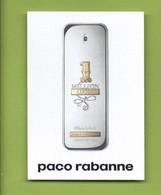 PACO RABANNE *  MILLION LUCKY * - Perfume Cards