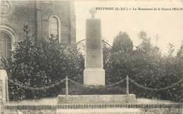 NEUFBOSC - Le Monument De La Guerre 1914/18. (carte Vendue En L'état) - Autres Communes