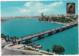 Cairo: TAXI, CARS - The Nile And The Tahrir Bridge - (Egypt) - Toerisme