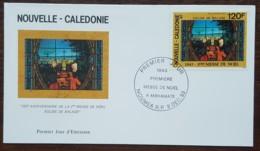 Nouvelle-Calédonie - FDC 1993 - YT Aérien N°309 - Première Messe De Noël à Mahamate - FDC