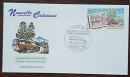 Nouvelle-Calédonie - FDC 1994 - YT N°656 - Première Liaison Postale Par Route Nouméa / Canala - FDC