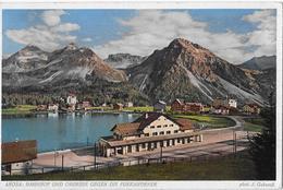 AROSA → Bahnhof Und Obersee Gegen Die Furkahörner, Ca.1920 - GR Grisons