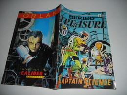Buried Treasure N° 2 : Captain Science Bd En Vo - Magazines