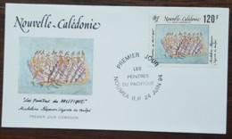 Nouvelle-Calédonie - FDC 1994 - YT Aérien N°313 - Peintres Du Pacifique / Micheline Néporon - FDC