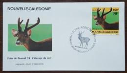 Nouvelle-Calédonie - FDC 1994 - YT N°664 - Foire Agricole De Bourail / Cerf - FDC