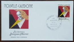 Nouvelle-Calédonie - FDC 1994 - YT N°667 - Ecrivains / Jacques Nervat - FDC