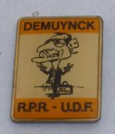 Pin's DEMUYNCK, R.P.R. U.D.F. - Associations