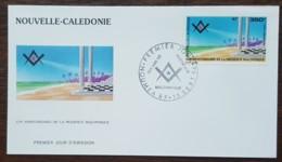 Nouvelle-Calédonie - FDC 1994 - YT Aérien N°324 - Présence Maçonnique - FDC