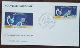 Nouvelle-Calédonie - FDC 1994 - YT Aérien N°325 - ORSTOM / Recherche Scientifique Et Technique - FDC