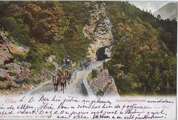 CHUR → Schanfiggerstrasse Mit Postkutsche Anno 1902   ►RRR◄ - GR Grisons