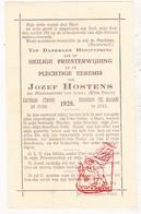 Devotie - 2x Priesterwijding - EH H. De Nolf & EH J. Hostens / Roeselare Averbode Carthago - Images Religieuses