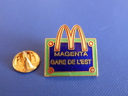 Pin's Mac Do - Mc Donald's - Magenta Gare De L'est - France - Place De Rue Paris (VB37) - McDonald's