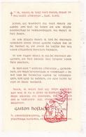 Devotie - Priesterwijding EH Gaston Hoflack / Staden Scheut 1949 - Images Religieuses