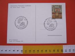 A.02 ITALIA ANNULLO - 1997 VARALLO VERCELLI VALSESIA 60° ASSOCIAZIONE NAZIONALE CARABINIERI ESERCITO MILITARI POLICE - Militaria