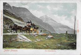 JULIER STRASSE → Postkutsche Bei Den Cesarsäulen Anno 1902    ►RRR◄ - GR Grisons