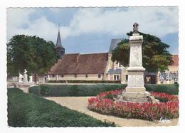 45 Varennes En Gâtinais Vers Montargis Nogent N°13 111 La Grande Place Station Pompes à Essence - Montargis