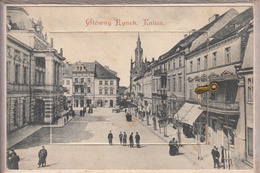 Thematiques Carte A Systeme 12 Vues Intérieur Glowny Rynek Kalisz Pologne - Poland