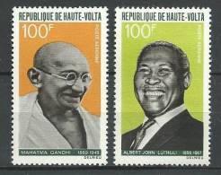 """Hte-Volta Aerien YT 61 & 62 (PA) """" Artisans De La Paix """" 1968 Neuf** - Haute-Volta (1958-1984)"""