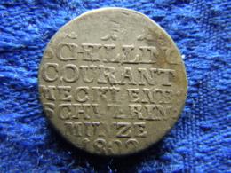 MECKLENBURG SCHWERIN 1 SCHILLING 1802, KM220 - Petites Monnaies & Autres Subdivisions