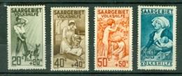 Sarre    103/106   *  TB - 1920-35 Société Des Nations