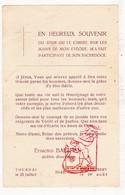 Devotie - Priesterwijding EH Edm. Baelden / Doornik Tournai / Ploegsteert Comines-Warneton 1948 - Images Religieuses