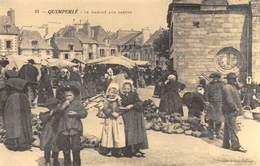 Quimperlé - Le Marché Aux Sabots - Cecodi N'1055 - Quimperlé