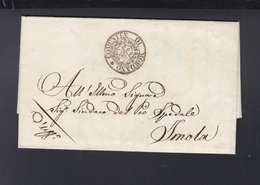 Lettera Mordano 1840 - Italien