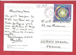 Y&T N°938 NOUMEA     Vers  FRANCE 2009  2 SCANS - Neukaledonien