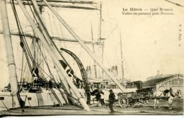N°67579 -cpa Le Havre -voilier En Partance Pour Nouméa- - Sailing Vessels