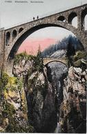 ALBULA - BAHN → Leute Auf Der Solisbrücke, Ca.1920 - GR Grisons