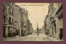 """REIMS  (51) : """" RUE DE L'ETAPE Vers La Fontaine Subé """" - Reims"""