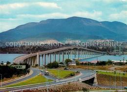 73356691 Hobart_Tasmania Panorama Tasmania Bridge Hobart Tasmania - Australien