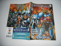 Jurassic Strike Force 5 (Silver Dragon Books) FCBD N°1 2015 NM Stock Image EN V O - Magazines