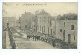 Frasnes Lez Mariembourg   1914 ( Maisons Bombardées ) - Couvin