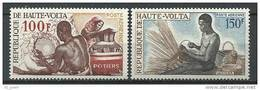 "Hte-Volta Aerien YT 58 & 59 (PA) "" Artisanat "" 1968 Neuf** - Haute-Volta (1958-1984)"
