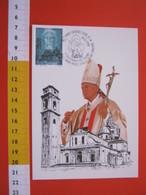 A.02 ITALIA ANNULLO - 1998 TORINO GIOVANNI PAOLO II ALLA SACRA SINDONE 5° CENTENARIO DUOMO MAXIMUM - Papi