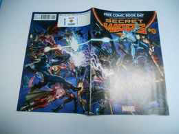 Secret Wars # 0 ( Paul Renaud , V.O. 2015 Marvel ) F.C.B.D. - Magazines