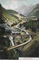 ALBULA - BAHN → Dampfzug Auf Den Viadukten Zwischen Bergün & Preda Anno 1904 - GR Grisons