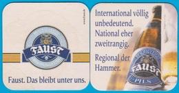 Brauhaus Faust Miltenberg ( Bd 2077 ) Günstige Versandkosten - Bierdeckel