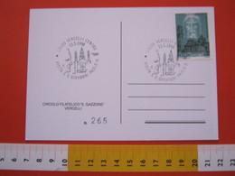 A.02 ITALIA ANNULLO - 1998 VERCELLI GIOVANNI PAOLO II VISITA BASILICA S. ANDREA BEATO DON SECONDO POLLO ALPINI ALPINO - Papi