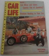 Rare Revue Vintage Automobile Américaine Car Life Juillet 1955 Film The Racers Kirk Douglas,Ken Miles MG Le Mans - Autres