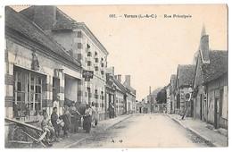 VERNOU - Rue Principale (beau Cliché Animé) - Other Municipalities