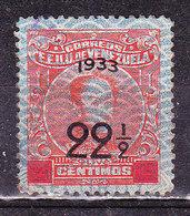 Venezuela 1933  - Usato - Venezuela