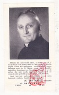 Devotie - Foto Priesterjubileum 25j. EH Pastoor M. Van Maele / College Diksmuide Beerst Emelgem Roeselare Brielen Ieper - Images Religieuses