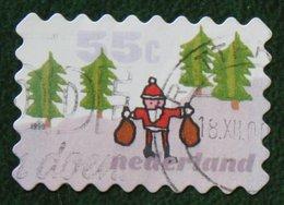 Kerst Christmas XMAS Weihnachten NOEL NVPH 1860 (Mi 1757) 1999 Gestempeld / USED NEDERLAND / NIEDERLANDE - Period 1980-... (Beatrix)
