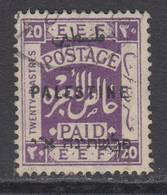 D181225  Palestine1922 SG 89 VFU - Palestine