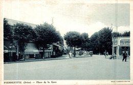 PIERREFITTE PLACE DE LA GARE - Pierrefitte Sur Seine