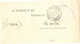 Plico Posta Militare G. M. II - PM 201 1.11.1941 VEDI DESCRIZIONE - 1900-44 Vittorio Emanuele III