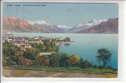 VEVEY, PANORAMA ET DENT DU MIDI - 5.03.17 - VD Vaud