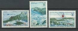 """Hte-Volta YT 184 à 186 """" JO Grenoble """" 1967 Neuf** - Haute-Volta (1958-1984)"""